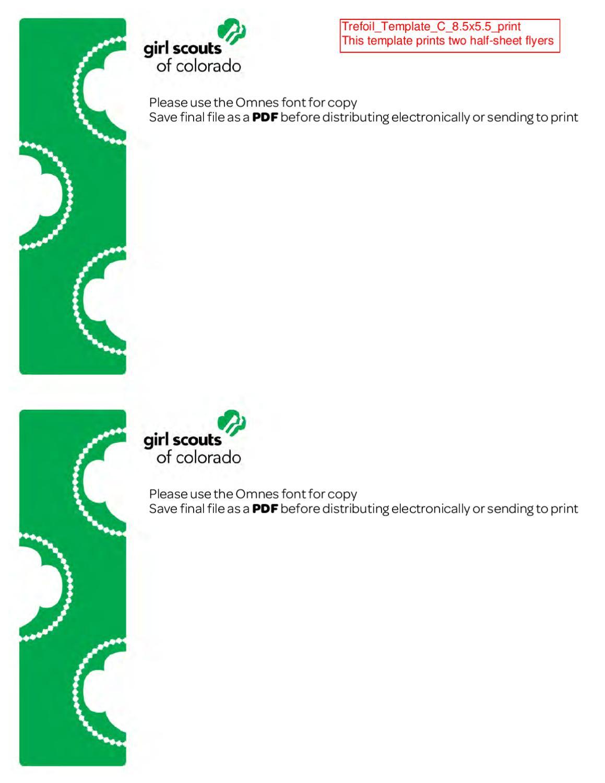 half sheet flyer template
