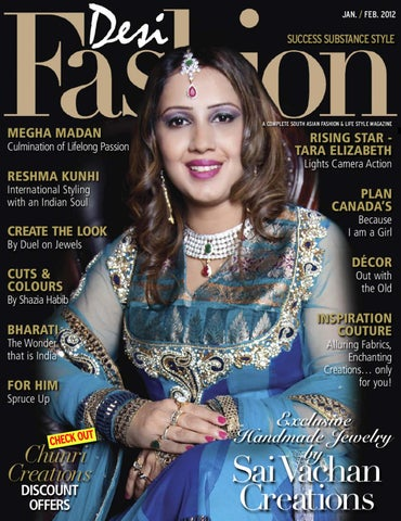 DESI FASHION MAG. JAN./FAB. 2012 ISSUE