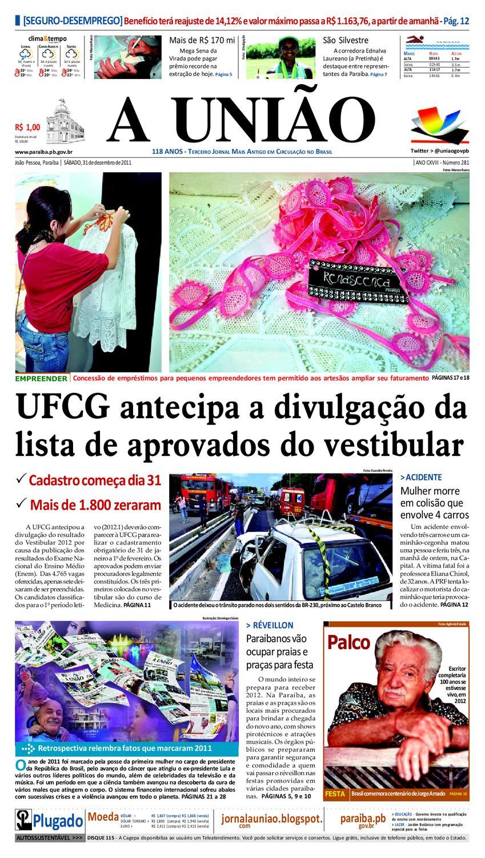 Jornal A UNIÃO by Jornal A União - issuu 9bfd46defab