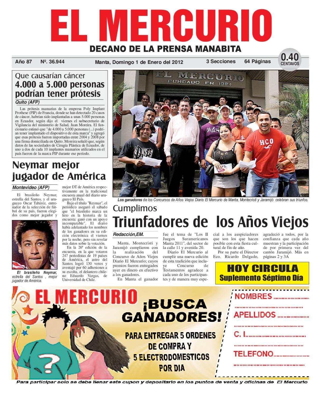 1enero2012 by Diario El mercurio - issuu a89b80be500