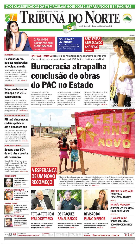 81f804f4608c3 Tribuna do Norte - 01/01/2012 by Empresa Jornalística Tribuna do Norte Ltda  - issuu