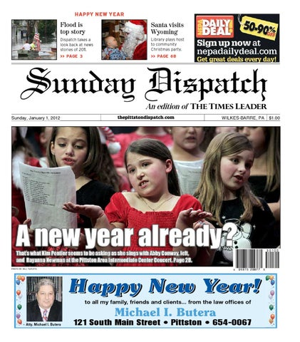 The Pittston Dispatch 01-01-2012 by The Wilkes-Barre Publishing ... 385cec323