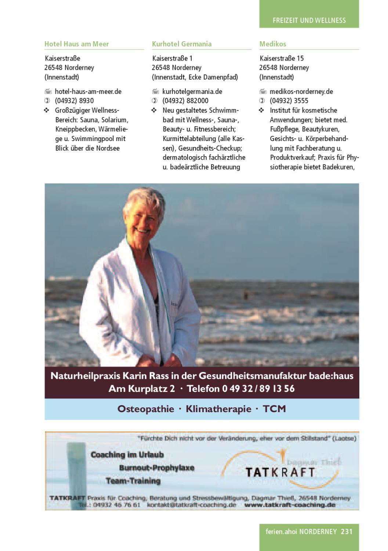 ferien.ahoi Norderney Magazin 155 // 15 by ferien.ahoi   issuu