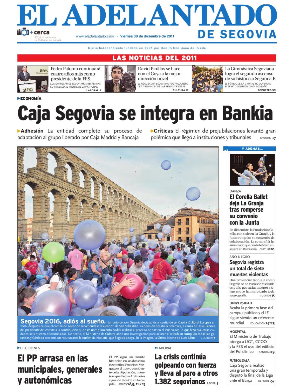 Resumen del año 2011 by Adelantado de Segovia - issuu 338693e01495a