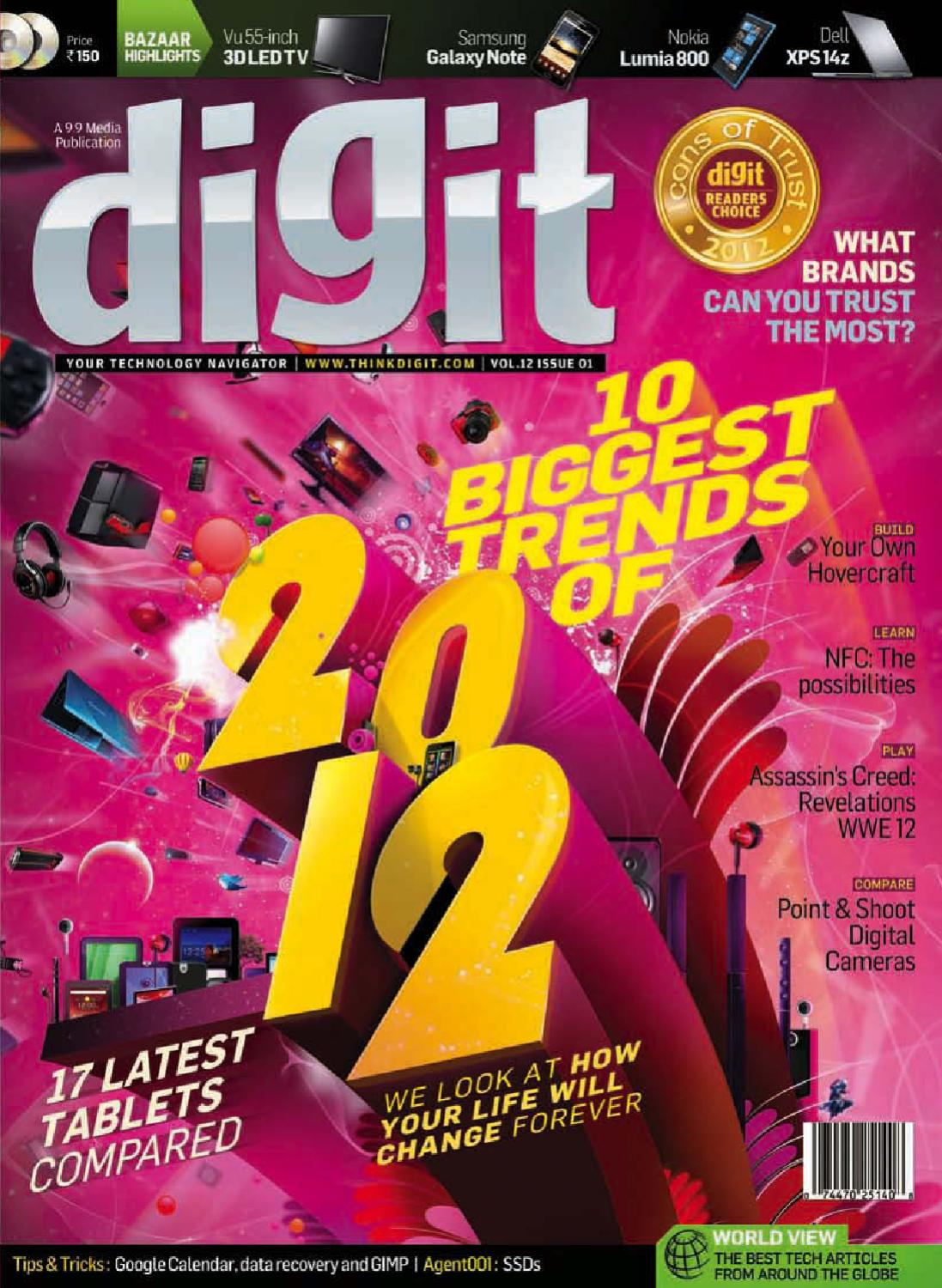 Digit January 2012 by 9 9 Media - issuu