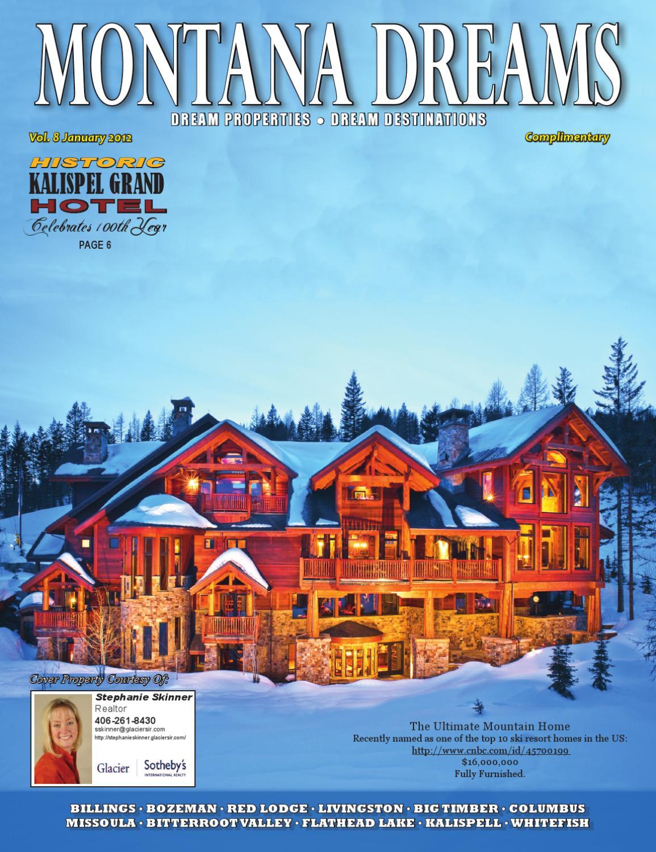 Montana Dreams Magazine January 2012 by Hebron Systems, Inc