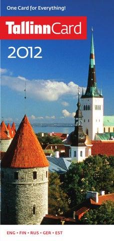 bbc4814af39 tckat_2012 by Tallinn City Tourist Office & Convention Bureau - issuu