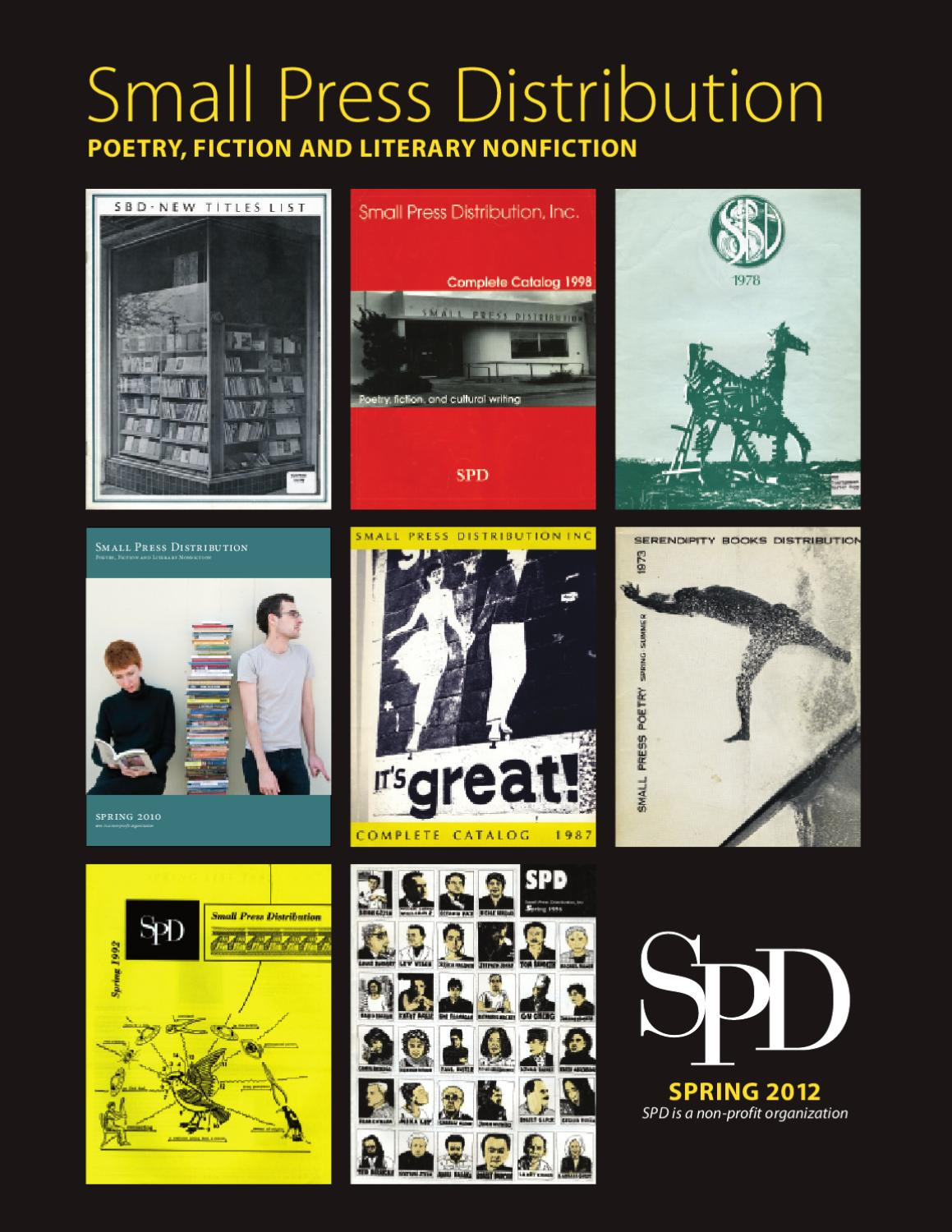 Spd Spring 2012 Print Catalog By Small Press Distribution Issuu Test Repair Job On Electronic Printed Circuit Board Ew Chee Guan