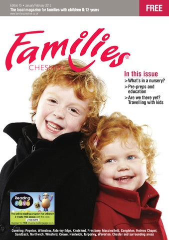 63b72b631c41 Families Cheshire Issue 15 Jan-Feb 2012 by Families Magazine - issuu
