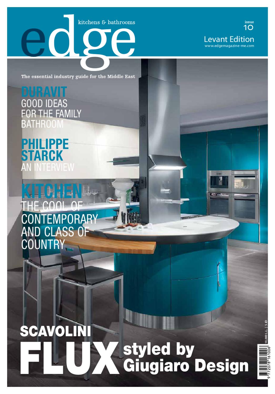 EDGE LEVANT Kitchens & Bathrooms Issue 09 by Amed - issuu