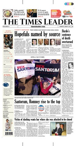 Times Leader 01-04-2012 by The Wilkes-Barre Publishing Company - issuu 46dd25c00