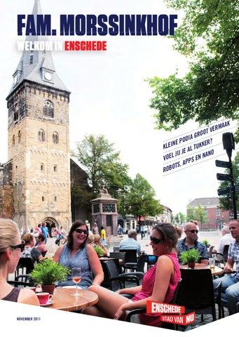 7e6b8a8756f Welkomstmagazine gemeente Enschede by Geen Blad voor de Mond B.V. ...