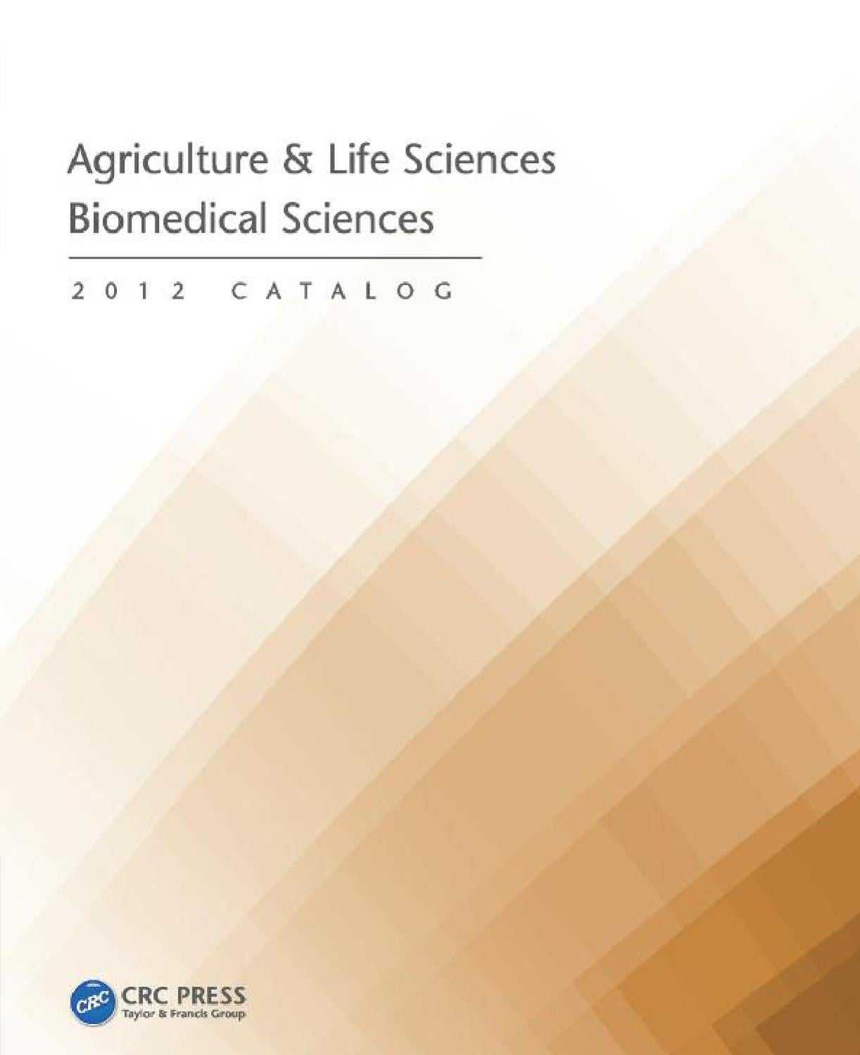 Agriculture Life Sciences Biomedical By Crc Press Issuu Bulk Transistor Tester 8211 An Easy Gain Classifier