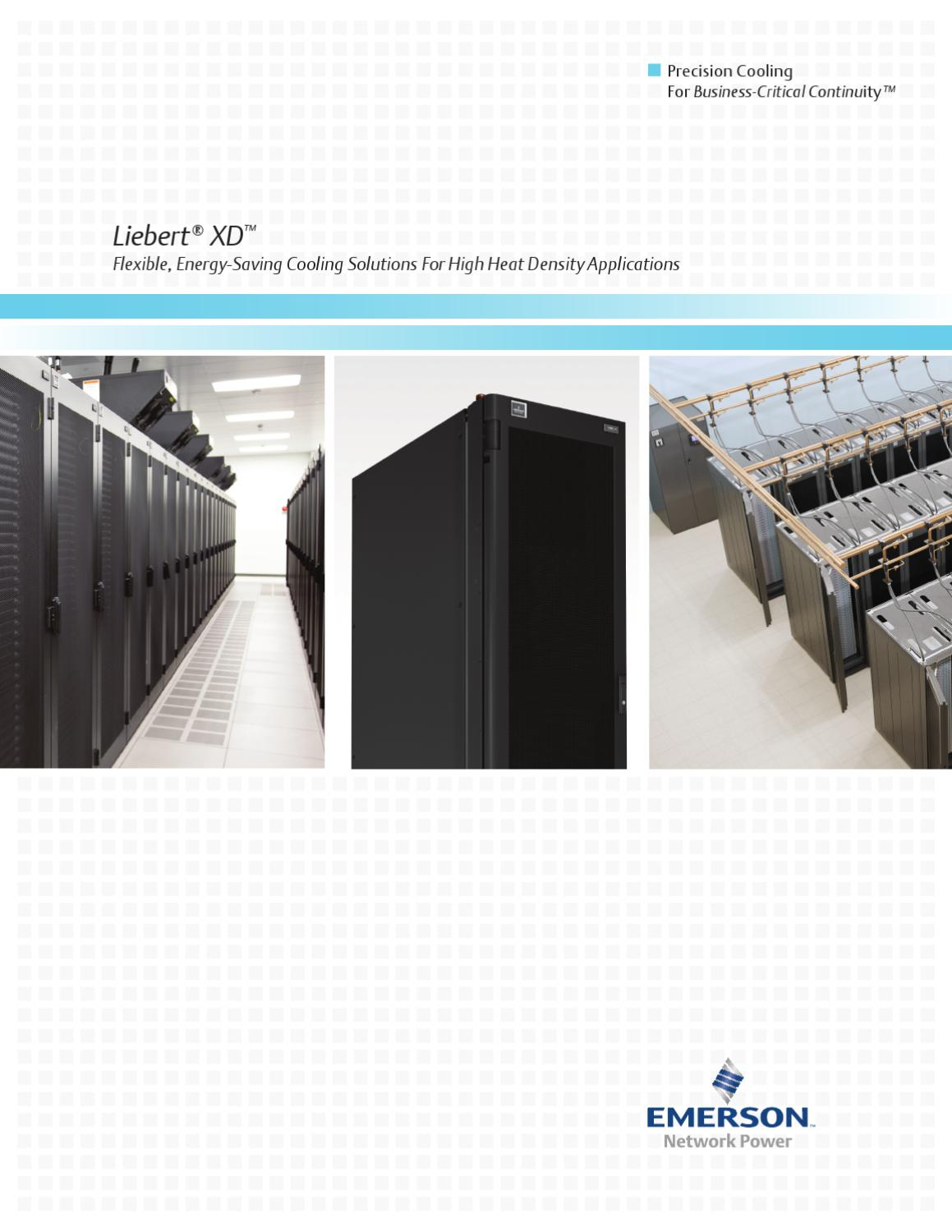 page_1 liebert xd™ by emerson network power issuu  at honlapkeszites.co