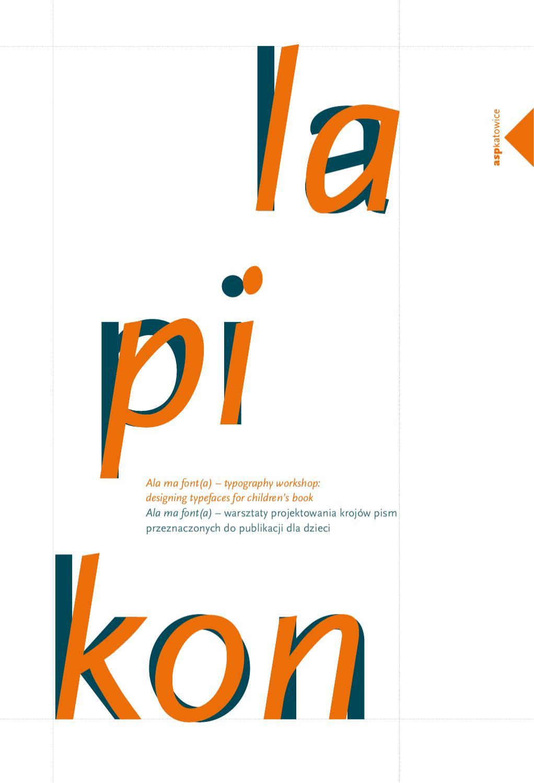 Katalog Ala Ma Font A By Warsztat Graficzny Ewa Satalecka