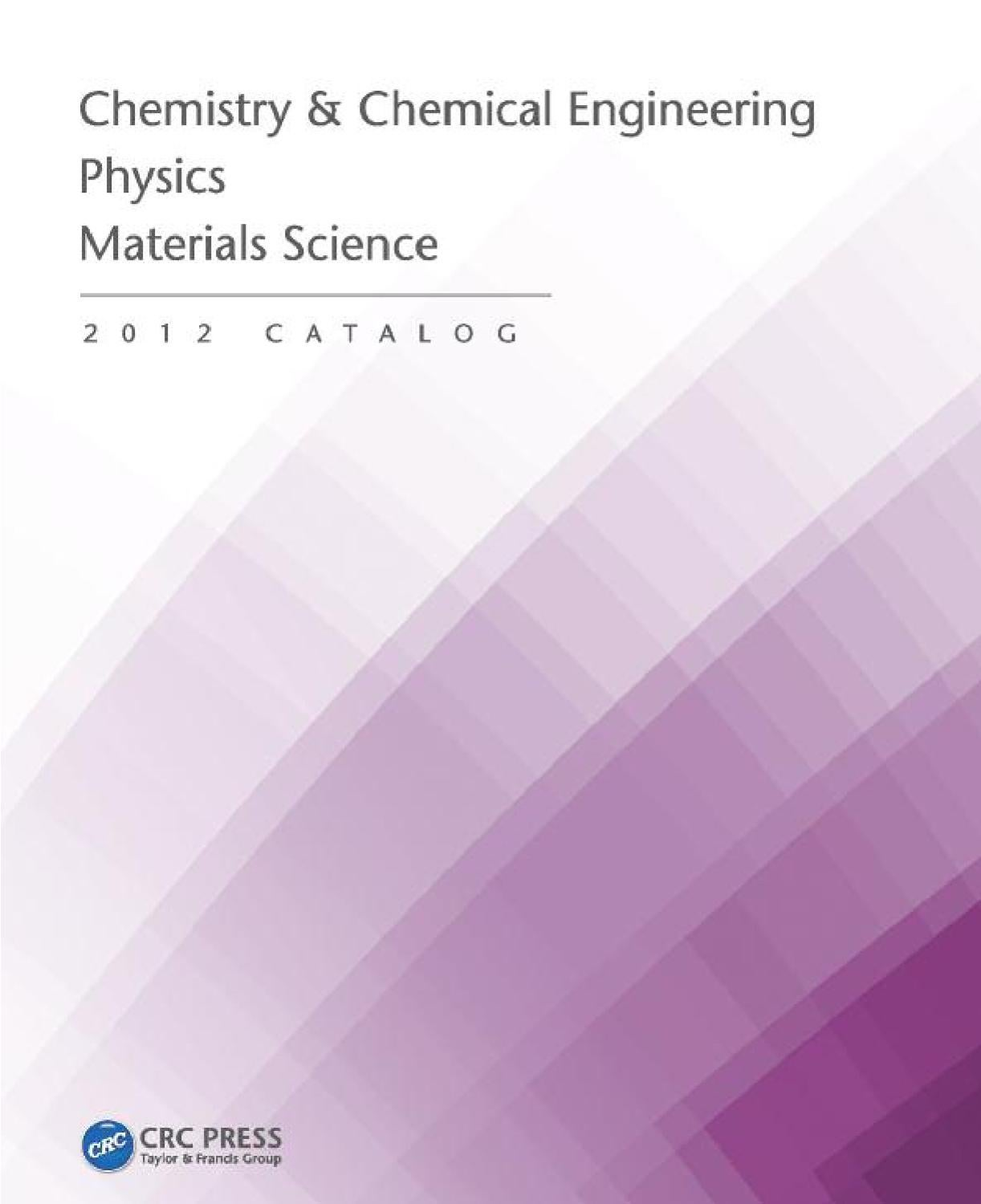 Chemistry Chemical Engineering Physics Materials Science By Simple And Useful Led Circuits Srihari Rao Crc Press Issuu