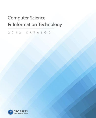 Computer Science Information Technology By Crc Press Issuu