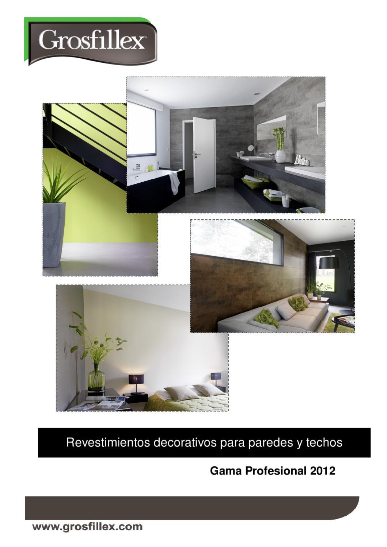 Catalogo Revestimientos decorativos GROSFILLEX by GROSFILLEX - issuu