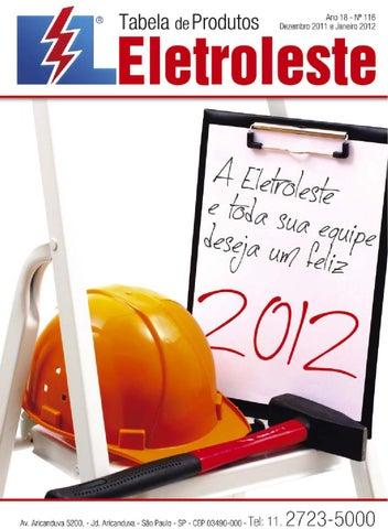 Tabela de produtos de Dezembro e Janeiro - nº 116 - Eletroleste by ... a234e262d8