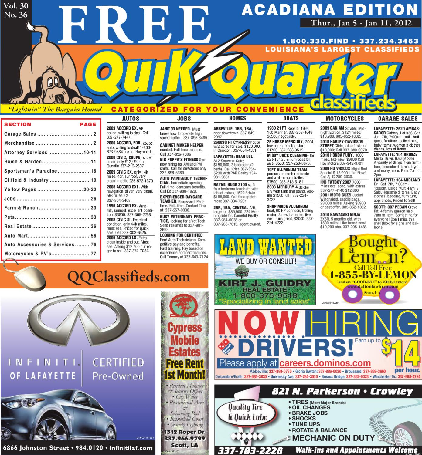 Qq Acadiana By Part Of The Usa Today Network Issuu Prix Sj For Sale Besides Camaro Wiring Diagram In Addition 1979