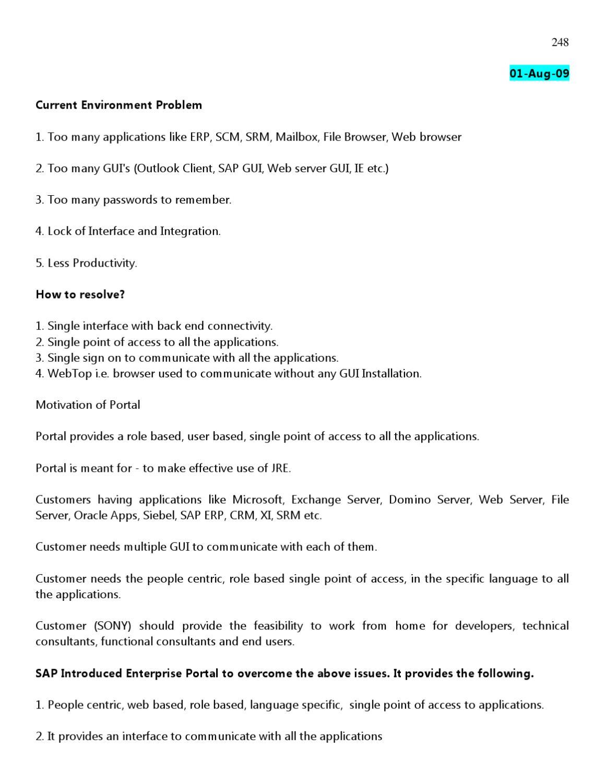 SAP Basis Ebook: Beginner's Training | www sapdocs info by