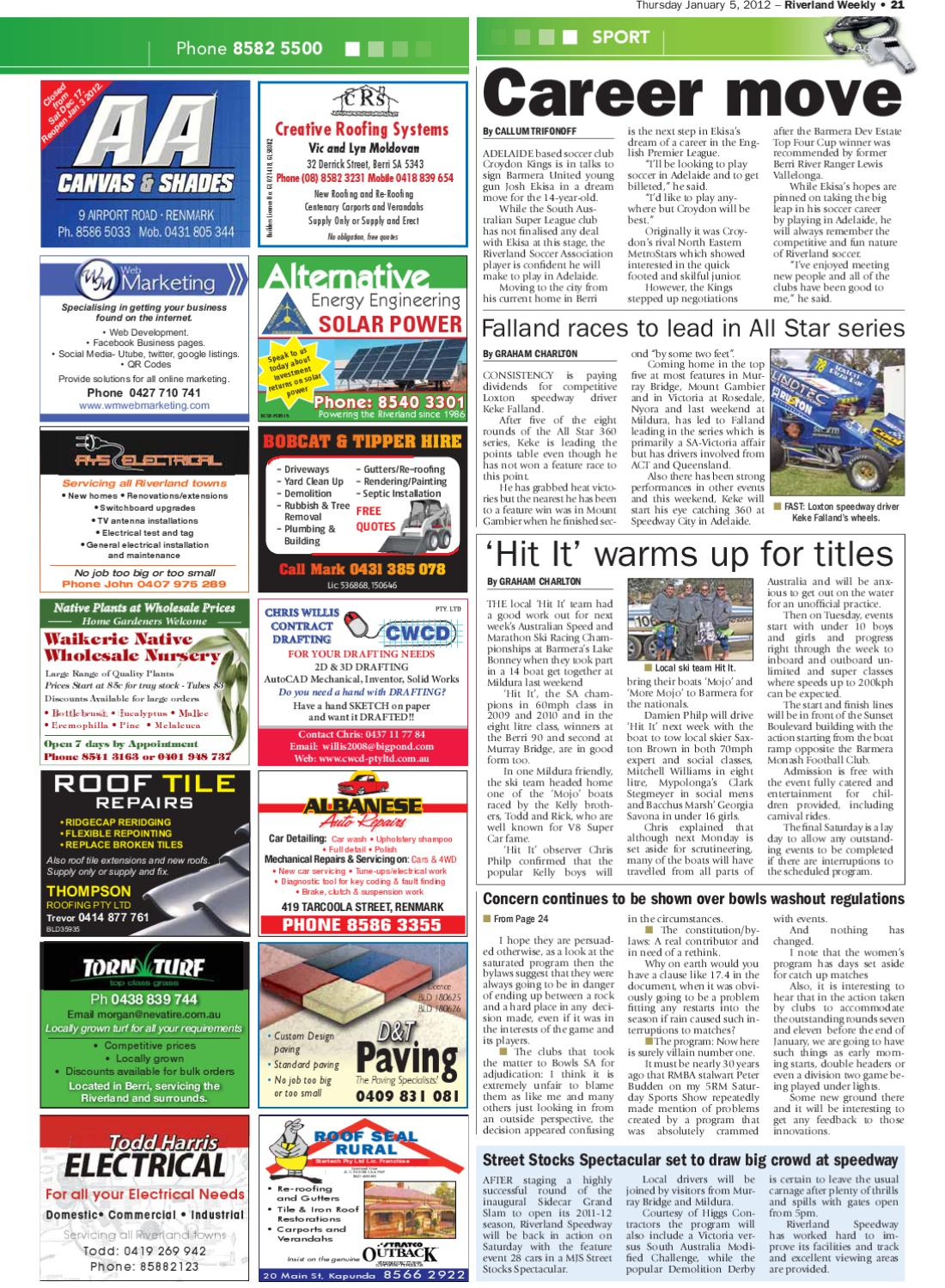 Riverland Weekly By Riverland Weekly Issuu