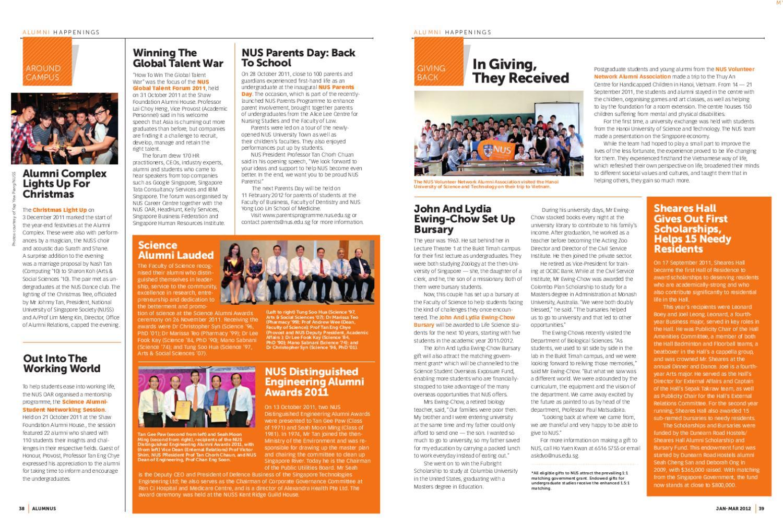 Nus Alumni Office Alumnus Magazine