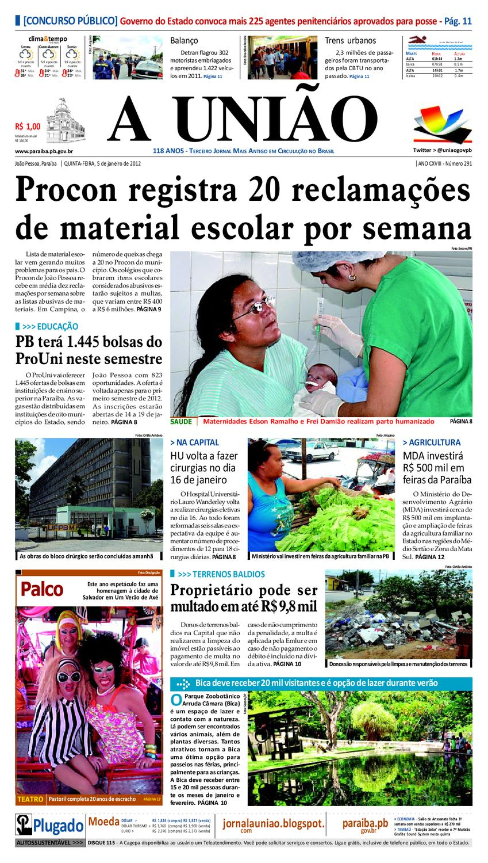 9812e2fc8 Jornal A UNIÃO by Jornal A União - issuu