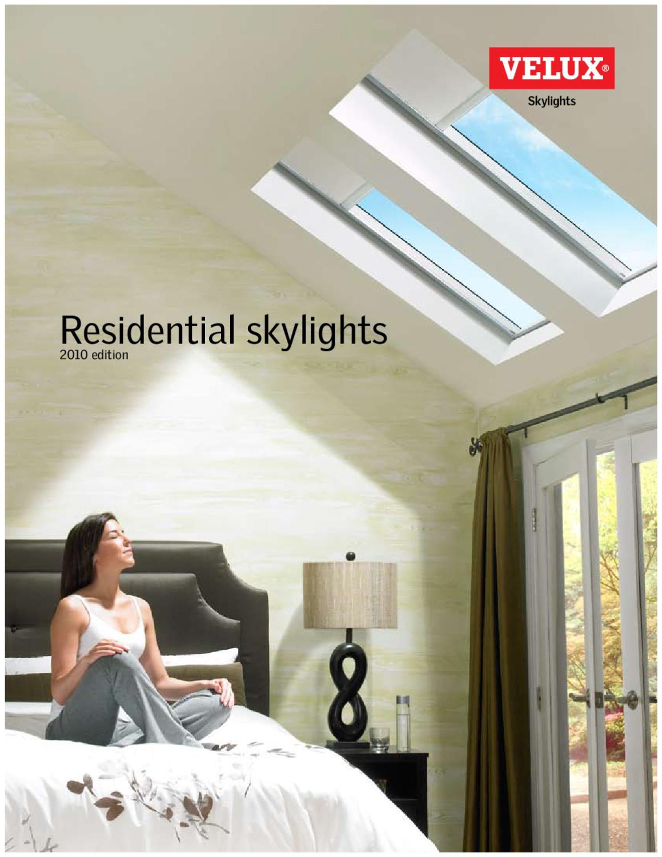 Velux Residential Skylights Catalog By Horner Millwork Issuu