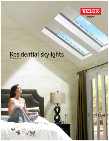 Velux Residential Skylights Catalog By Horner Millwork Issuu