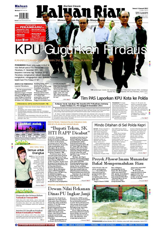 Haluanriau 2012 01 06 By Haluan Riau Issuu Kunci Ring Pas Only Crv Satin Finished Tomeco 13m M