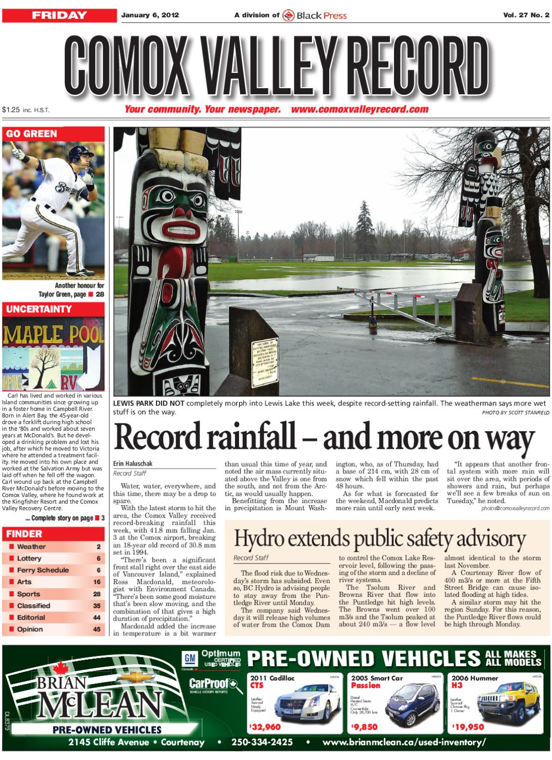 Fri January 6, 2012 Comox Valley Record by Comox Valley Record Newspaper -  issuu 6458ce1ca9
