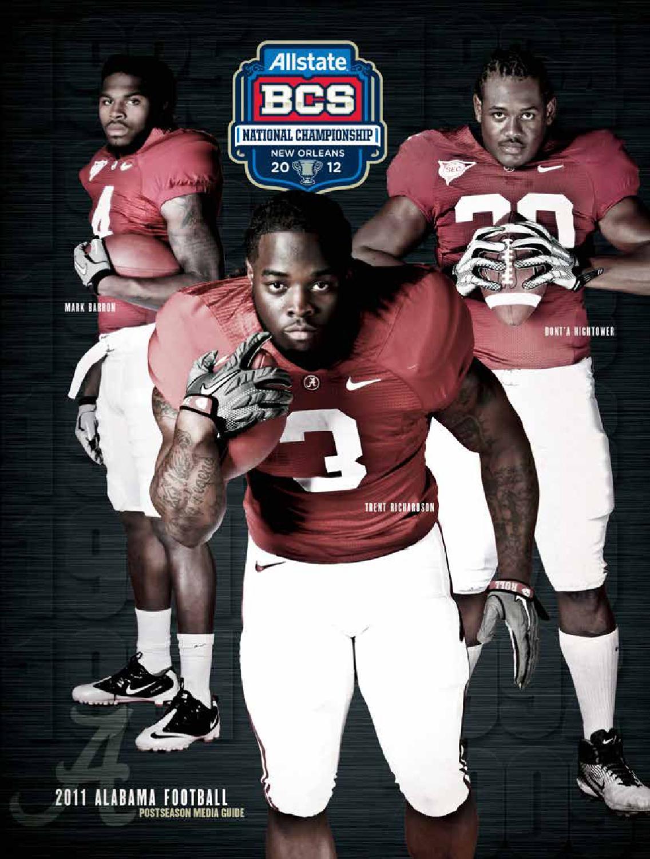 BCS Nationald Championship Media Guide by Alabama Crimson Tide - issuu 0b156b229
