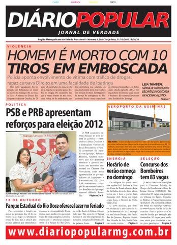 jornal 11 10 PDF 2011 by Jornal Diário Popular - issuu 4dec73cb80100