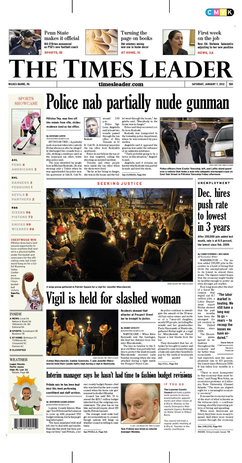 Times Leader 01-07-2012 by The Wilkes-Barre Publishing Company - issuu 1aa6a5889