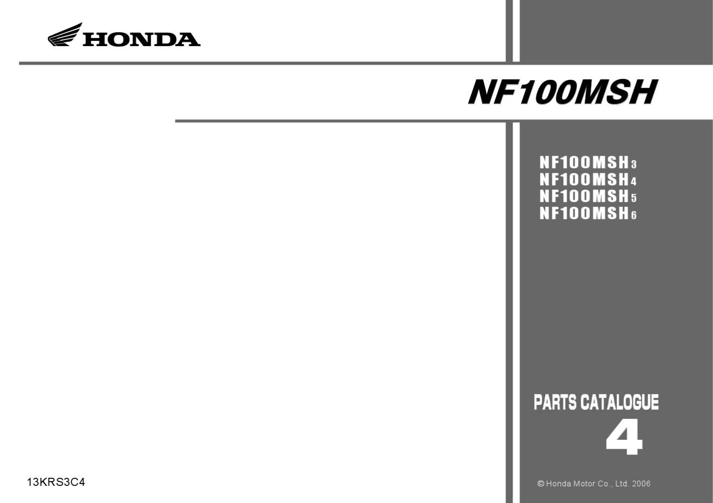 manual despiece honda nf 100 wave 2003 al 2006 by fernando laborda rh issuu com honda wave 125 owners manual pdf honda wave 125 owners manual pdf