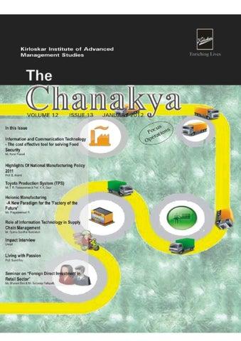 The Chanakya Jan-12 by KIAMS - issuu