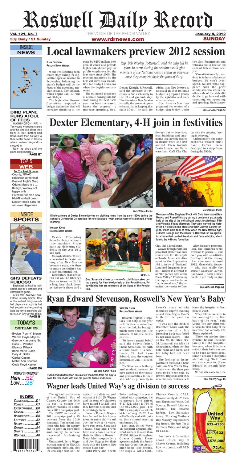 01-08-11 RDR NEWS by Roswell Daily Record - issuu ae518b899