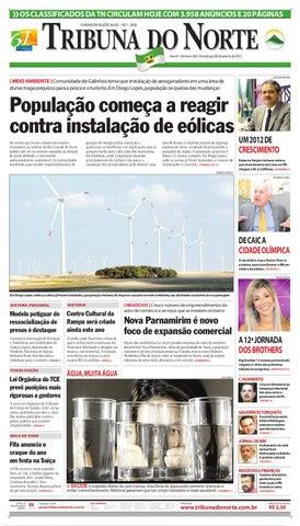 Tribuna do Norte - 08 01 2012 by Empresa Jornalística Tribuna do ... 0abd421c23b57