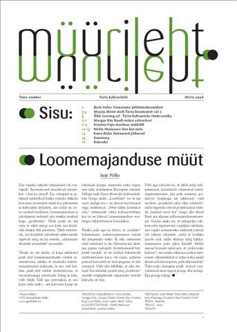 e5abdeb6668 MÜÜRILEHT 22 : festivali eri 2012 by Müürileht - issuu