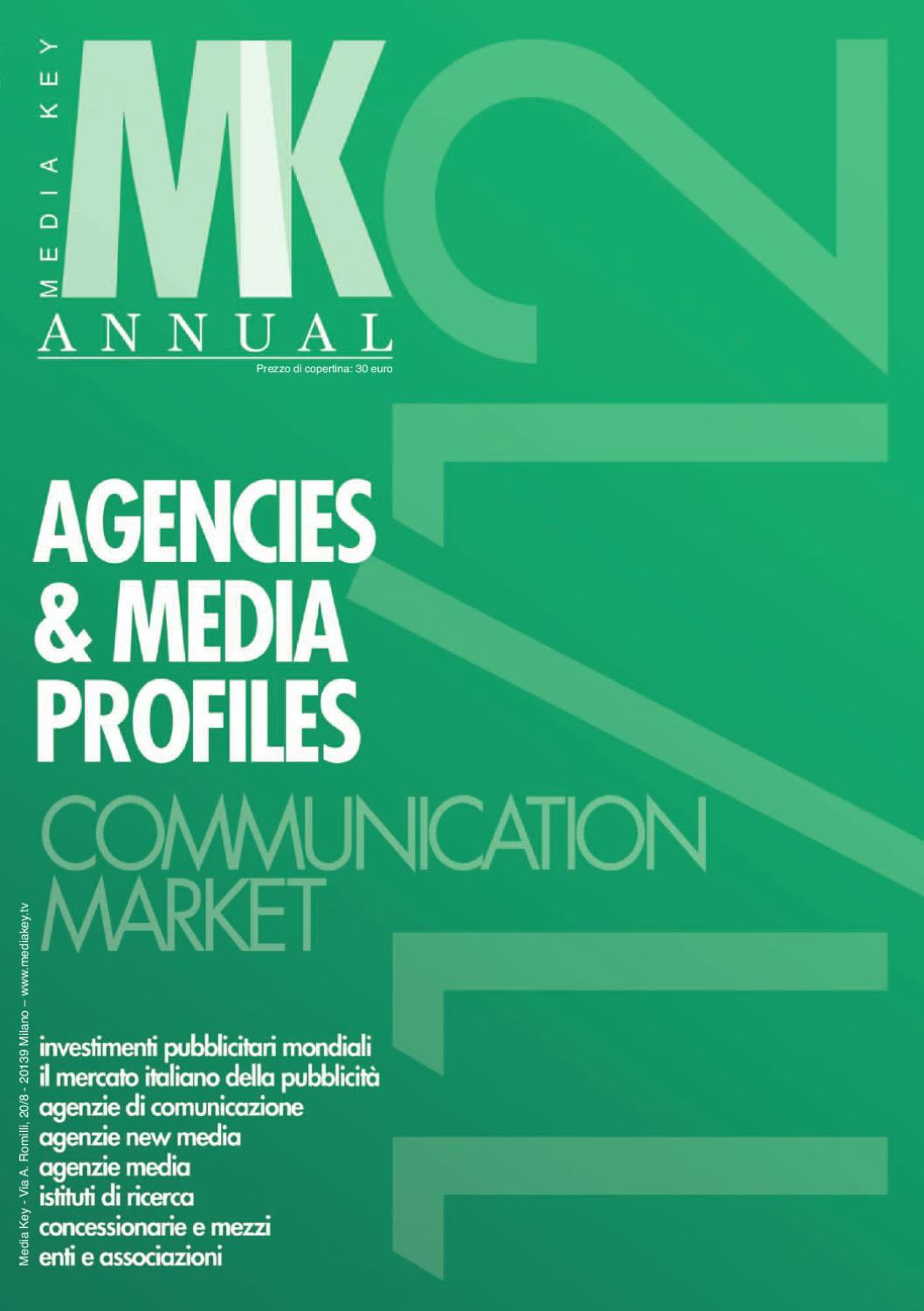 Media Key Annual 2011 by Media Key Srl - issuu dc6c33693e8