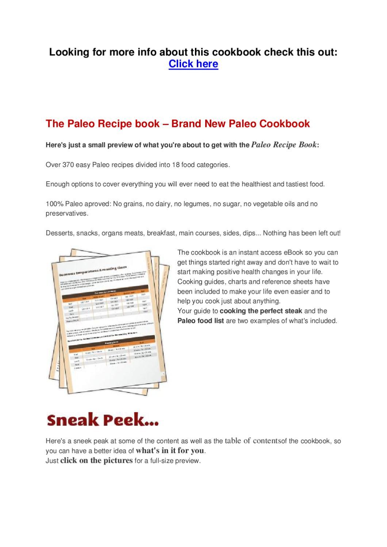 The paleo recipe book by bertus geefshuysen issuu forumfinder Choice Image