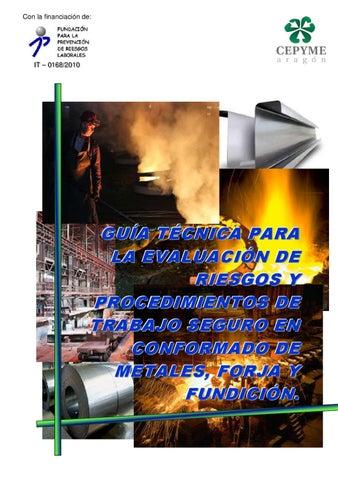 Guía técnica evaluación de riesgos y procedimientos de trabajo ... 79ccd6e9db5b