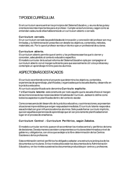 Tipos de currículum by Crisamaro crisa - issuu