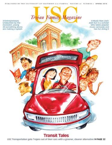 Trojan Family Magazine Spring 2010 by University of Southern
