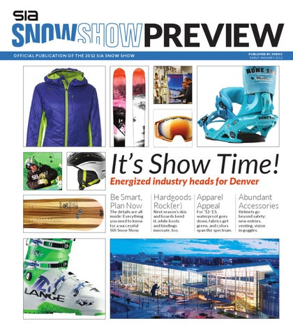 SIA Snow Show Preview by SnowSports Industries America (SIA) - issuu 3731b19ebb94