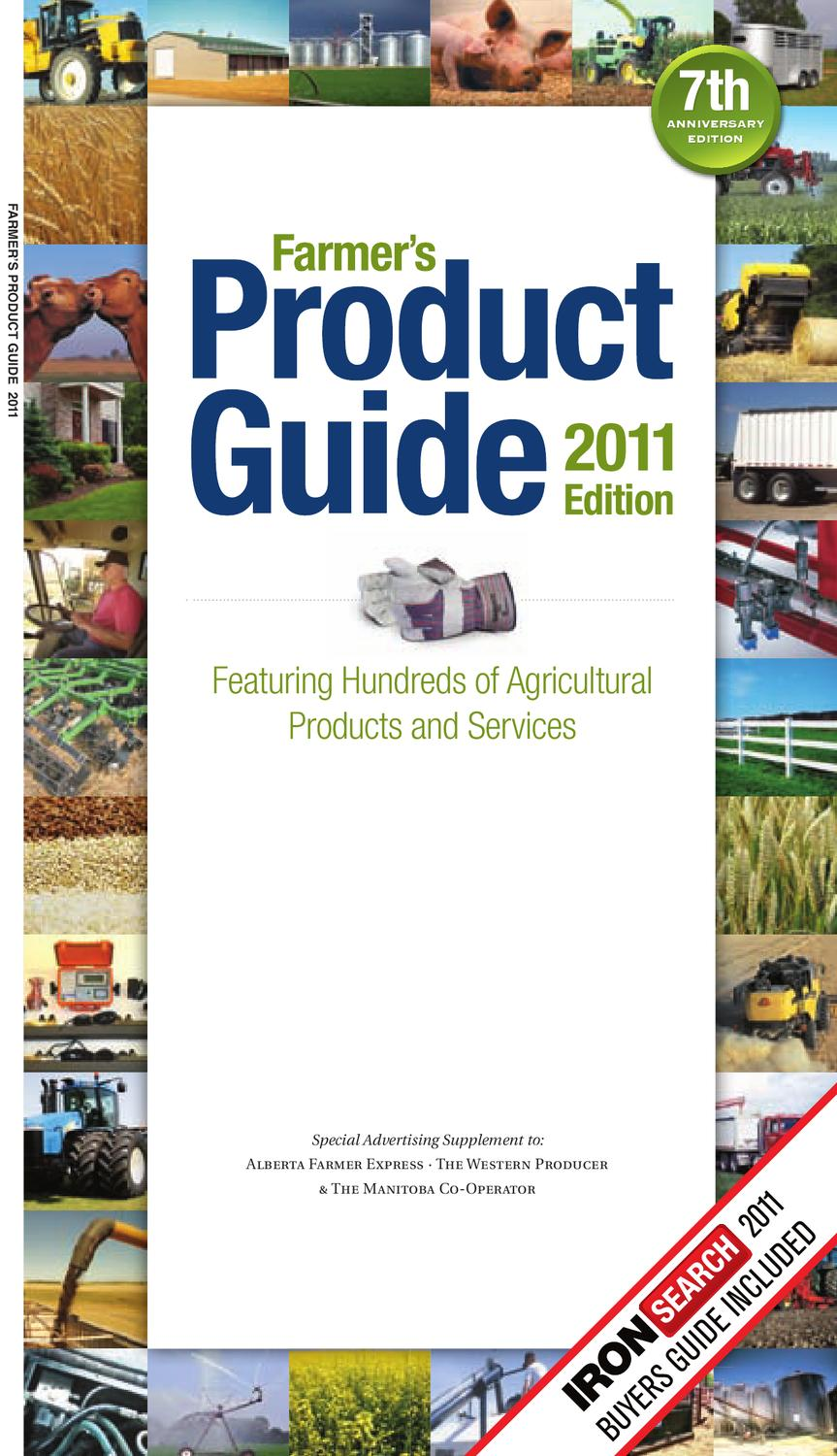 Farmer's Product Guide 2011 Edition by Farm Business