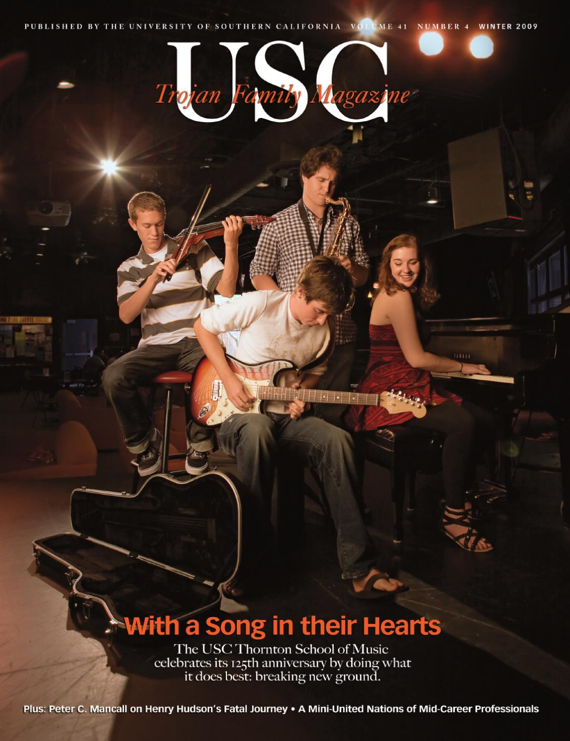 Trojan Family Magazine Winter 2009 By University Of Southern In Addition Henry Kaiser Guitar Furthermore Electric Wiring California Issuu
