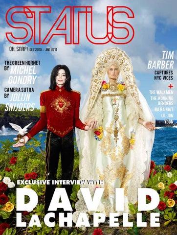 0becc27bffc2 STATUS Magazine feat. David Lachapelle by STATUS Magazine - issuu