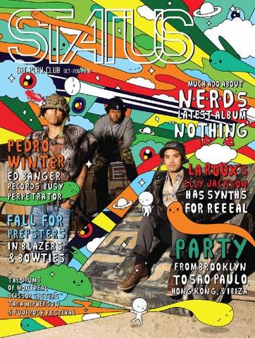 1c7de256bd4 Status Magazine feat. N.E.R.D. x Friends With You by STATUS Magazine ...